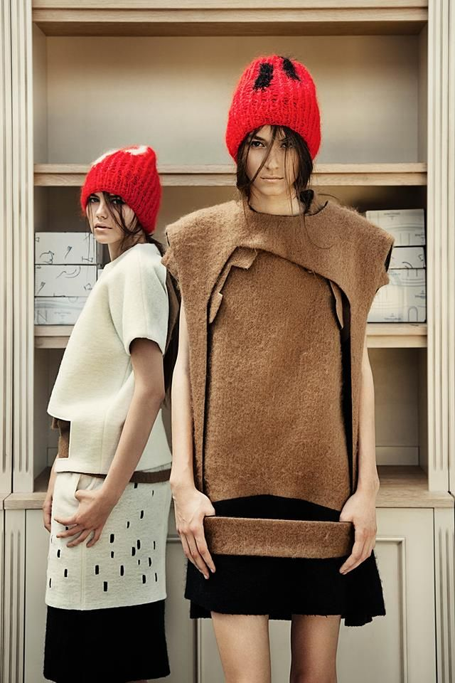 """NJAL's Alexandru Tunsu was launched in 2012 and since then released several collections receiving great reviews. The label was recently nominated for """"Best young designer"""" at Elle Style Awards 2013."""