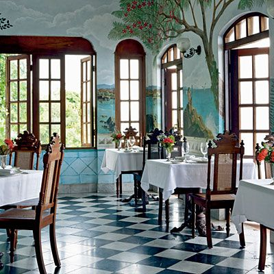 gorgeous French/Caribbean restaurant in Rincon, Puerto Rico