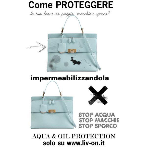 Come eliminare le macchie d'acqua da una borsa in pelle? by liv-on on Polyvore featuring moda and Balenciaga