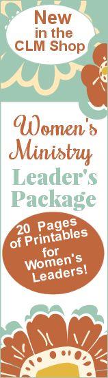 Women's Leader Printable Package