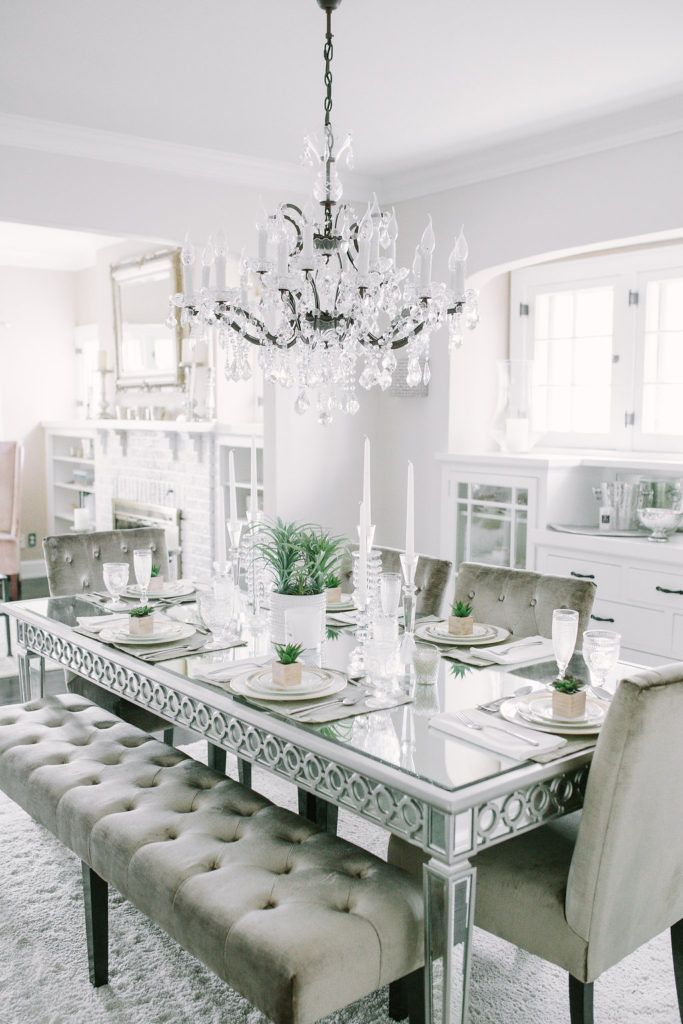 Champagne + Macaroons - House feature with Inspired by This