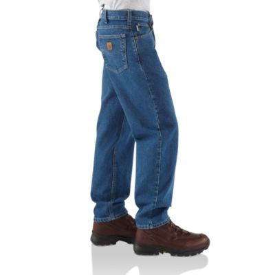 Borders Shoe and Boot Outlet - Carhartt B17 Relaxed-Fit Tapered-Leg Jean, $29.99 (http://www.bordersoutletky.com/carhartt-b17-relaxed-fit-tapered-leg-jean/) #Carhartt #relaxed #jeans #tough #hardworking #freeshipping
