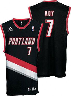 Portland Trail Blazers Brandon Roy 7 Black Authentic Jersey Sale
