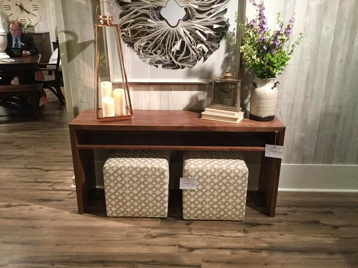 Very functional cube ottomans from modernfarmhousecollections.com