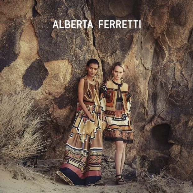 Эмбер Валлетта и Лия Кебеде для Alberta Ferretti (Интернет-журнал ETODAY)