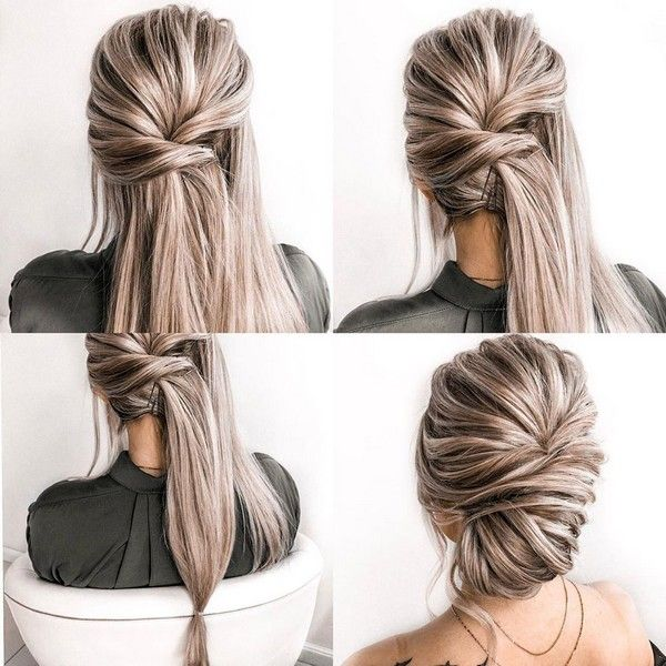 34 Diy Hairstyle Tutorials For Wedding And Prom Wedding Hairstyles Tutorial Hair Styles Long Hair Wedding Styles