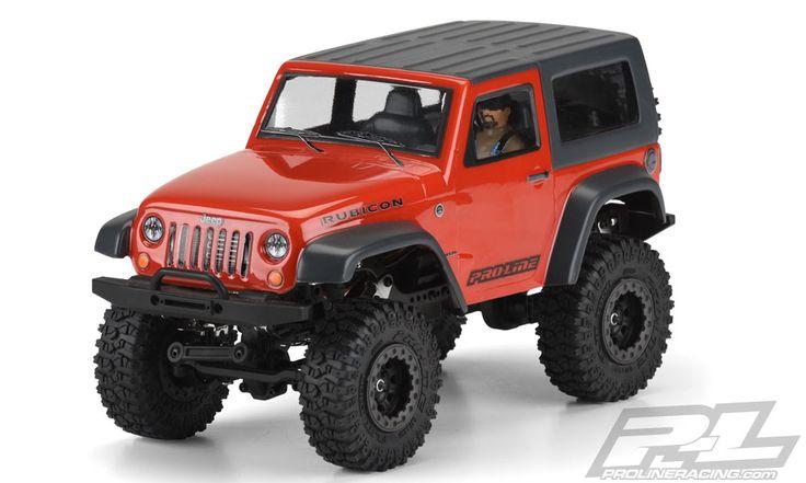 Pro-Line 3477-00 Jeep Wrangler Rubicon Clear Body For Ambush 4x4