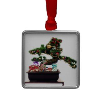 Bonsai Christmas Tree Christmas Tree Ornaments