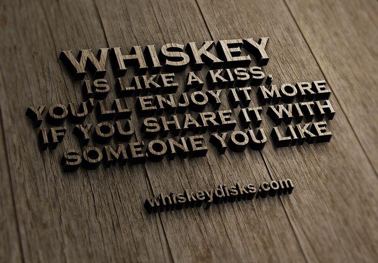 It's like a kiss. #bourbon #whiskey