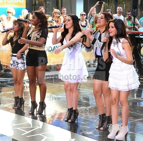 Fifth Harmony Performs Live on NBC Today Show