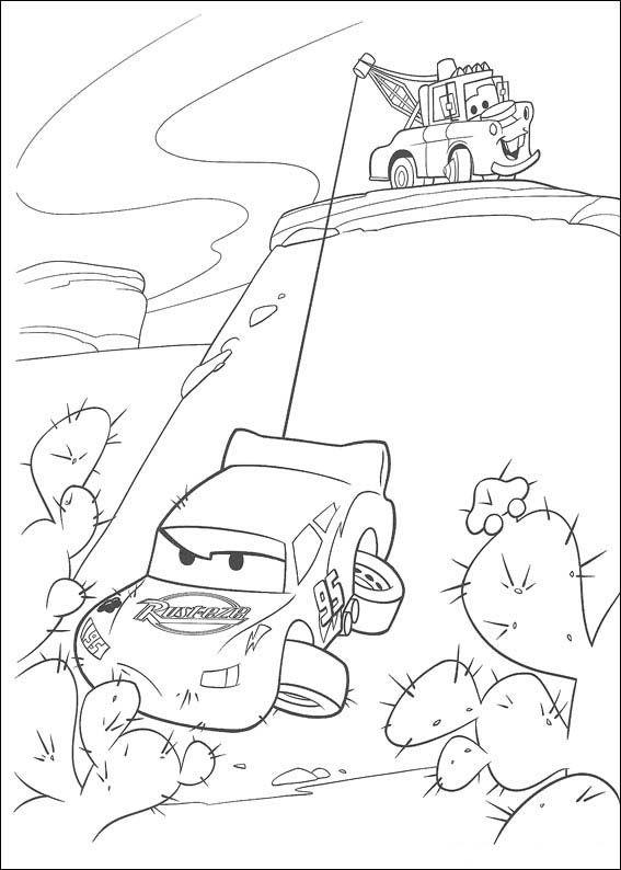 Dibujos para niños para imprimir Cars 49