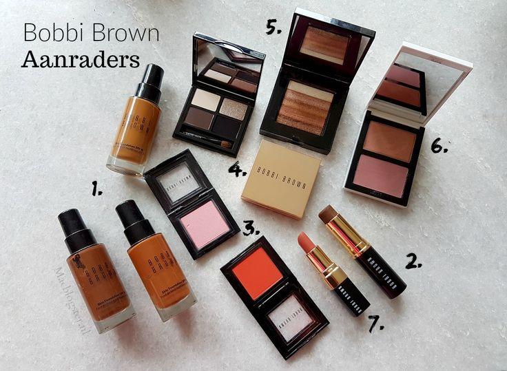 Op mijn blog kom je regelmatig reviews of nieuwtjes tegen over MAC make-up. Over Bobbi Brown make-up heb ik tot op heden weinig geschreven. Dit is op zich best opmerkelijk want als ik naar de inhoud van mijn visagiekoffer kijk, dan zitten daar toch echt wel enkele Bobbi Brown producten tussen. Ook in mijn toilettas met make-up die ik dagelijks tot wekelijks gebruik, zijn enkele Bobbi Brown producten terug te vinden. Het is dan ook tijd voor een lijstje met Bobbi Brown aanraders.