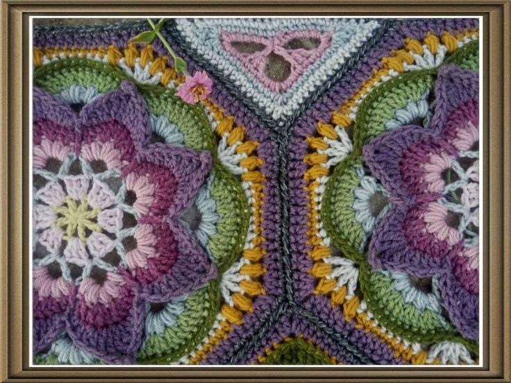 Çiçekli Battaniye Modeli Yapılışı 21