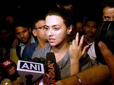 Sana Khan's reaction on Pratyusha Banerjee's suicide.