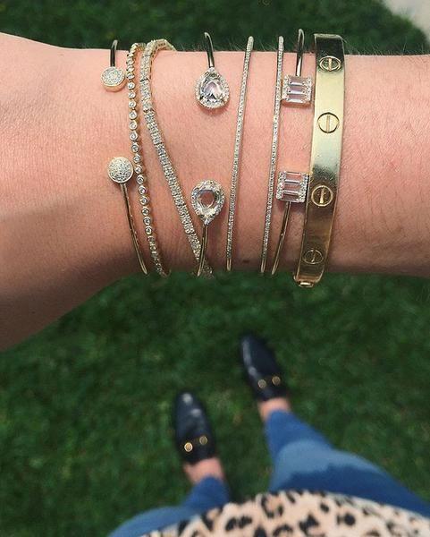 EF Collection Diamond Eternity Bracelet - 2