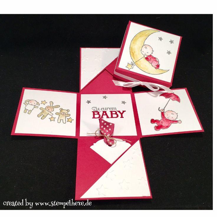 Box Baby Maedchen geburt stampin stempelhexe