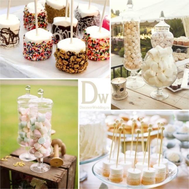 Десертный стол: обзор угощений | DiscoverWedding.ru