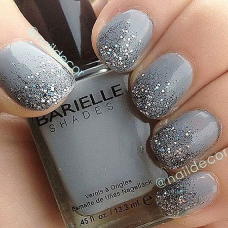 90+ Beautiful Glitter Nail Designs to Make You Look Trendy and Stylish - Page 21 of 84 - Nail Polish Addicted