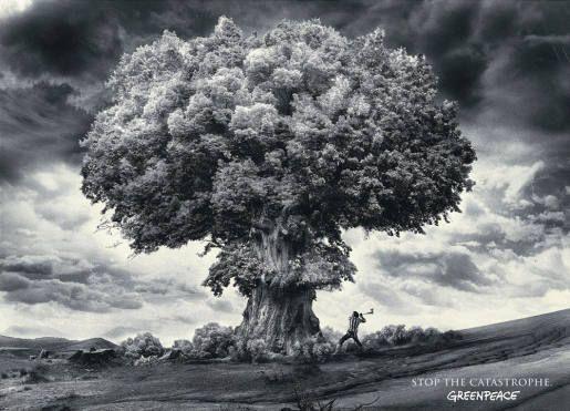 Greenpeace Axe Bomb | The Inspiration Room