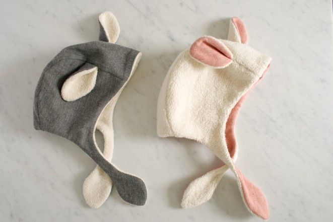 Free sewing pattern for the Lamb Bonnet | by The Purl Bee