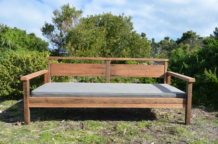 Hard Eastern is a fine example of the beauty and strength of Australian timber. Created from a mix of hardwood sourced from the east coast, this recycled timber daybed is a beautiful example of the Aussie bush showcasing depth and detail. Sydney Blue Gum legs give sturdiness like no other while hardwood railings and Victorian Ash from old Victorian Alpine bridges create a solid feature back piece.