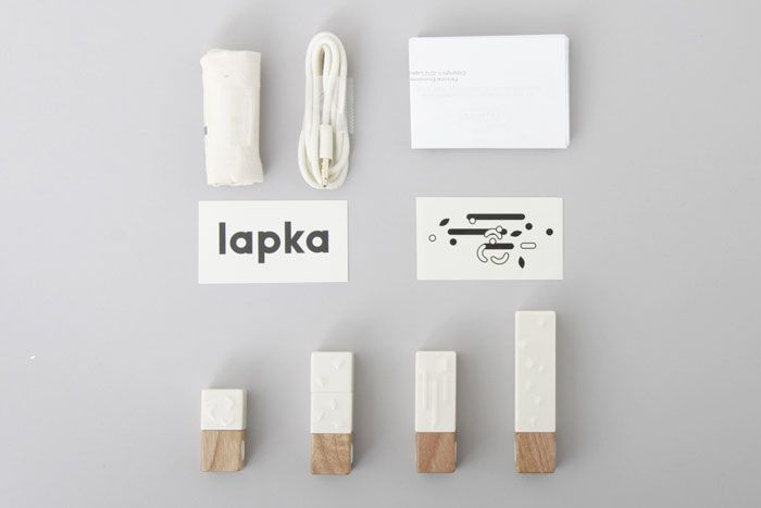 Burgopak Studio forLapka - The Dieline -
