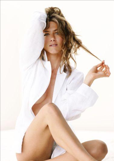 Mark D. Sikes: Chic People, Glamorous Places, Stylish Things: Jennifer Aniston, Jennifer Anniston, Celeb, Whiteshirt, Beautiful, Only Aniston, Photo, Jenniferaniston