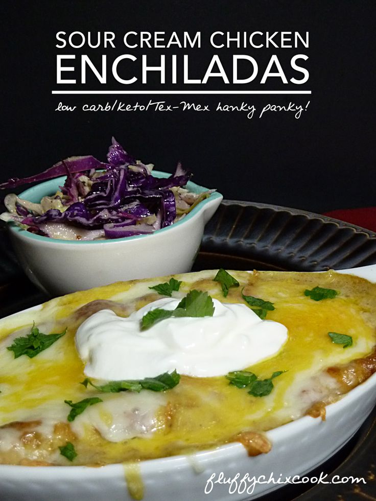 sour-cream-enchiladas-vertical | A LOW CARB KETO MAINS ...