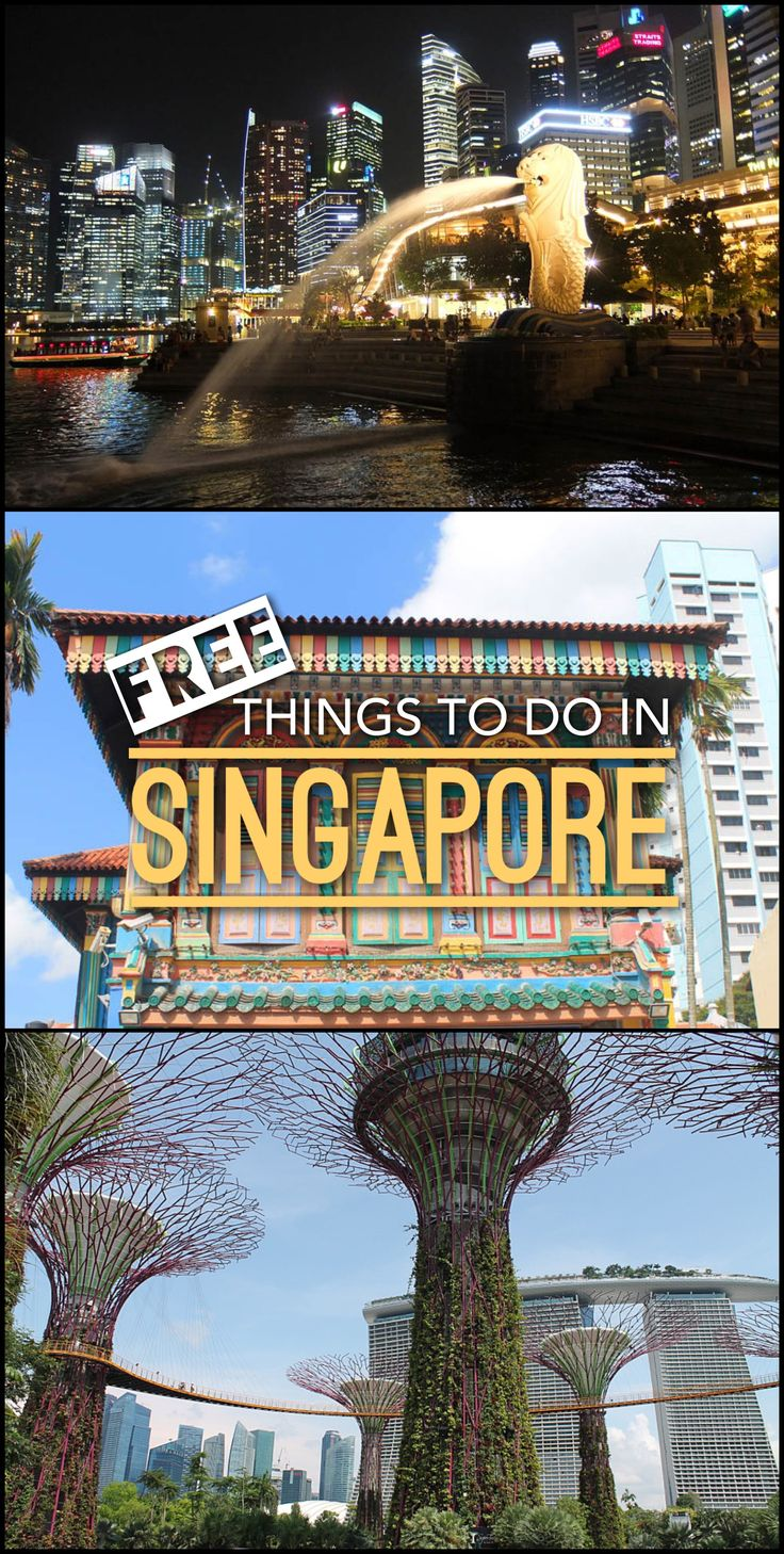 The best free things to do in Singapore -- this place doesn't need to be expensive!
