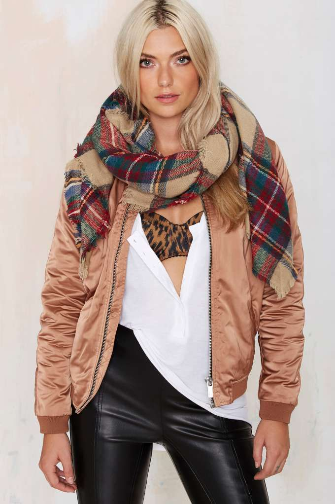 Willow Plaid Blanket Scarf | Shop Accessories at Nasty Gal!