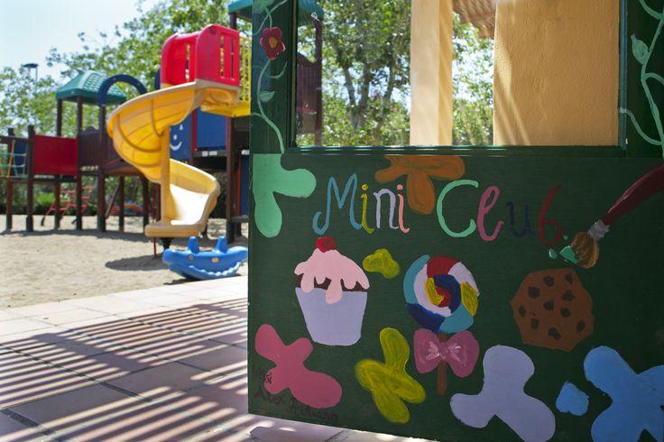 """Mini Blues"", the kids club inside #CandiaParkVilla in #Crete"