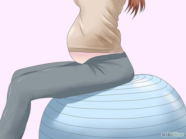Imagen titulada Use a Gym Ball During Pregnancy and After Childbirth Step 6