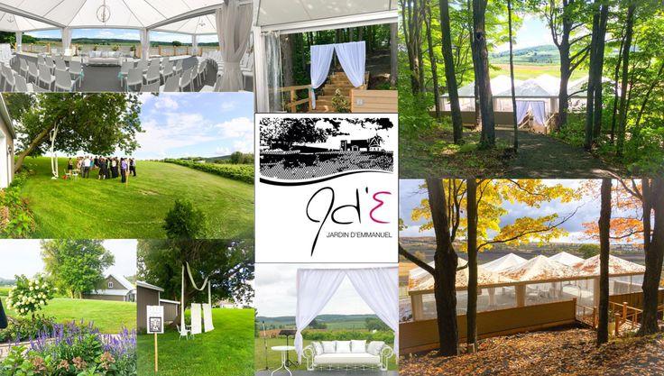 17 meilleures images propos de lieux de mariage rive for Au jardin d emmanuel