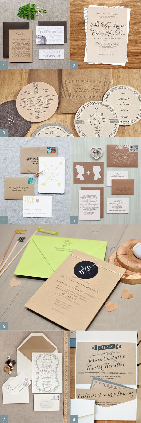 Best 90 Kraft Paper Invite Ideas On Pinterest Brown Paper Kraft