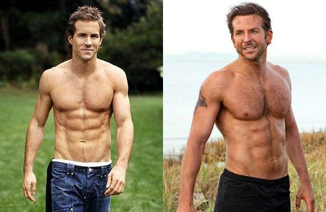 Ryan Reynolds Vs Bradley Cooper - http://duelodetitas.com/homens/ryan-reynolds-vs-bradley-cooper/