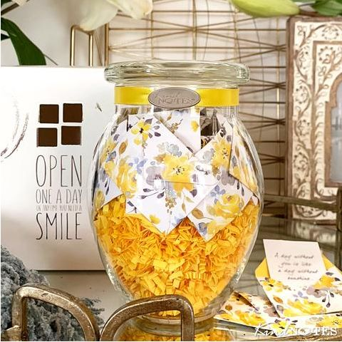 Make mother's day special as well as memorable with unique mother's day gift ideas? Get an amazing jar gift from KindNotes and get $5 off. Describe your feelings in personalized messages included in the jar.