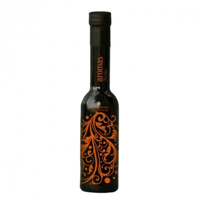 Basilippo Olive Oil with orange flavour, from Spain