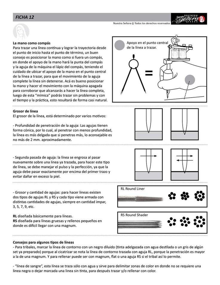 Ficha 12 / Consejos para líneas 03 - Caos Tattoo | Estudio de tatuajes profesional | Tatuadores en Santiago