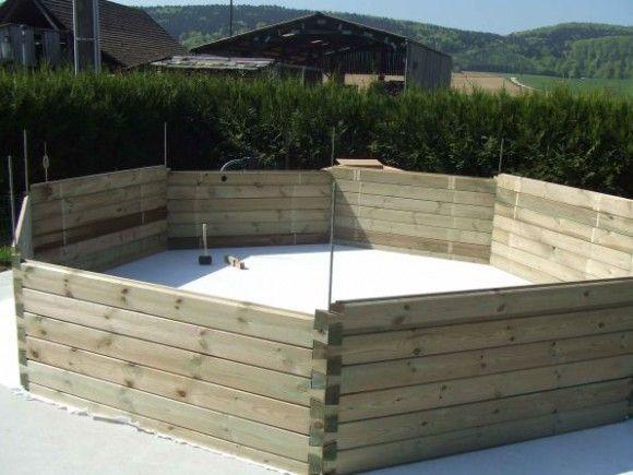 49 best Piscine hors sol images on Pinterest Petite piscine, Mini