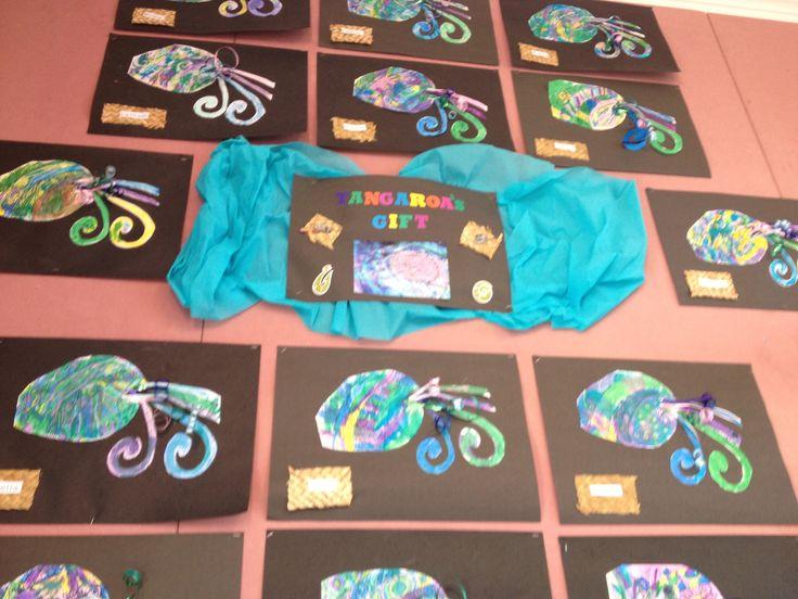 Tangaroa's gift art work.