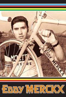 Velo-Retro: Merckx Molteni Colnago Poster