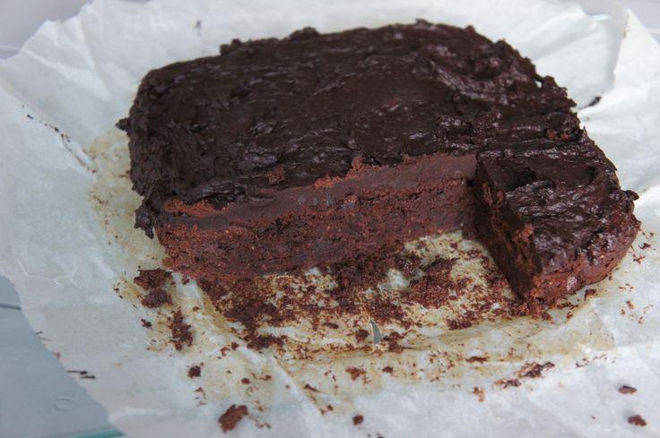 Voedzo - Recept voor chocoladebrownie met fudge topping