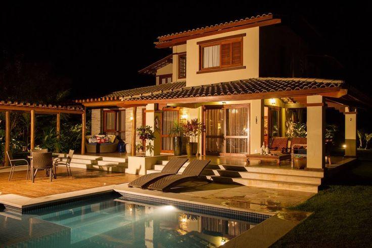 Fachada principal: Casas tropicais por Jamile Lima Arquitetura