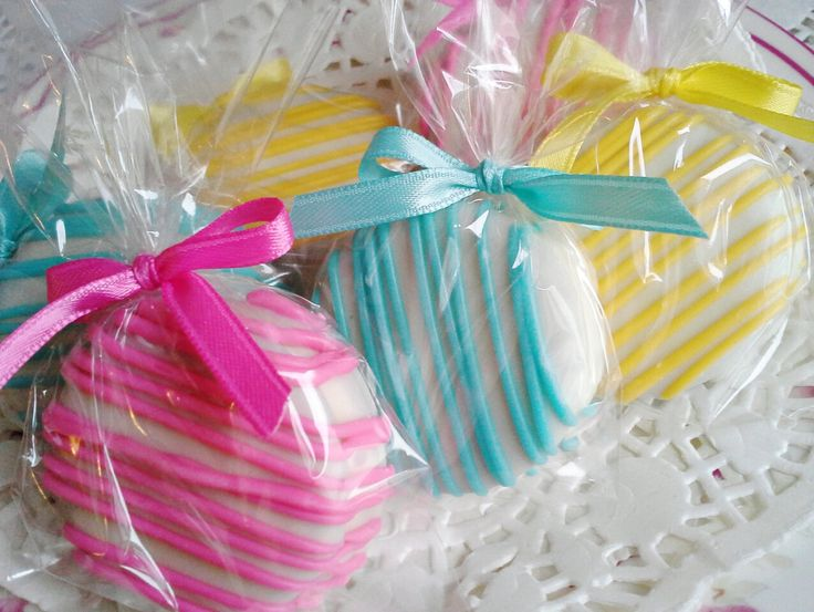 Chocolate Covered Oreos Cookies Pink Tiffany by Sweettoothsweetie