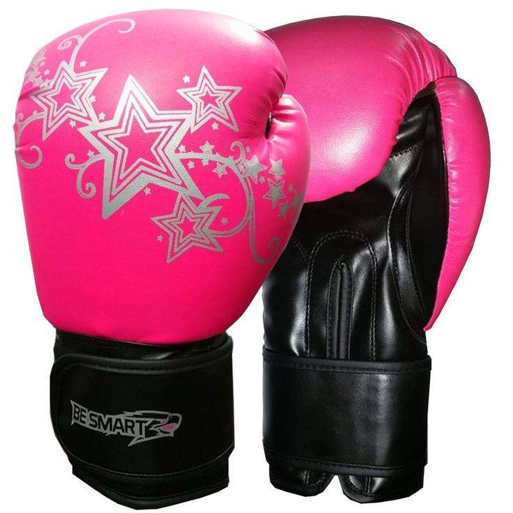 BeSmart Kids Boxing Gloves Junior Mitts 4oz, 6oz Punch Bag Children MMA Youth P #BeSmart