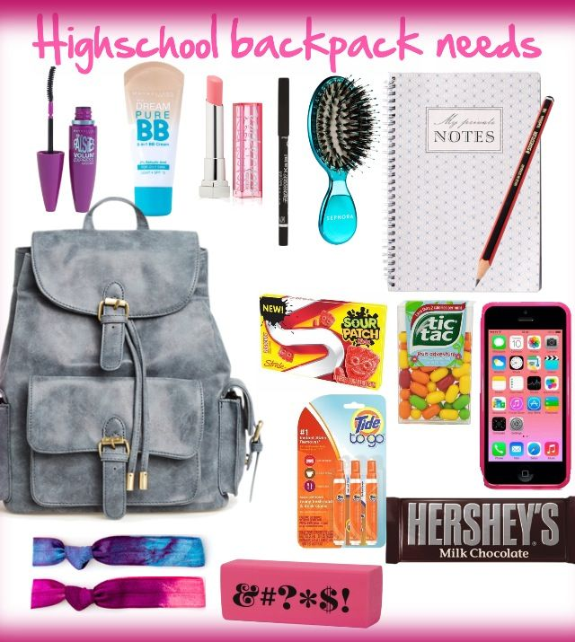 Everything you need as a highschool girl ;) created by kenzierootoo