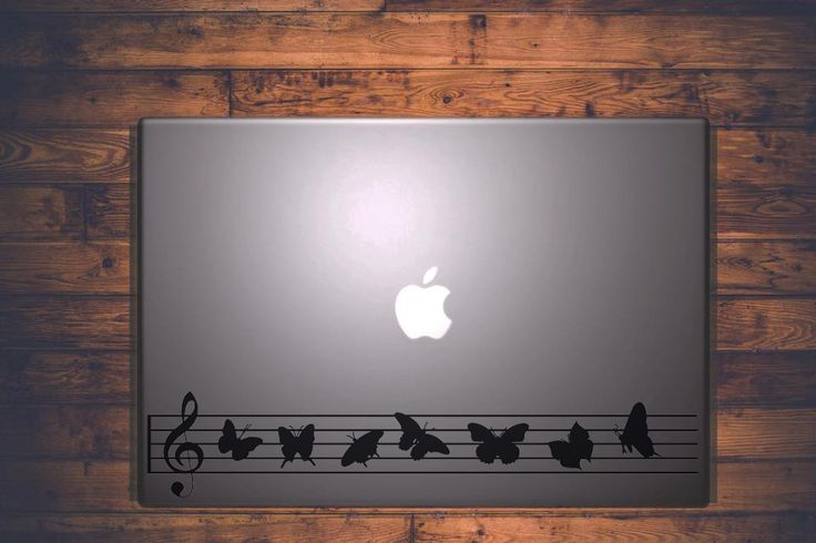 Music butterflies || MacBook sticker || our online store: www.etsy.com/it/shop/PasteITsticker || our facebook page: https://www.facebook.com/pasteit.it || #pasteit #sticker #stickers #macbook #apple #blackandwhite #art #drawing #custom #customize #diy #decoration #illustration #design #technology #computer #pc #censored #concept #idea #minimalist #decal #skin #cover #laptop #music #butterfly #butterflies #arrangement #score #wings