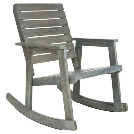Stratford Indoor/Outdoor Arm Rocking Chair in Ash