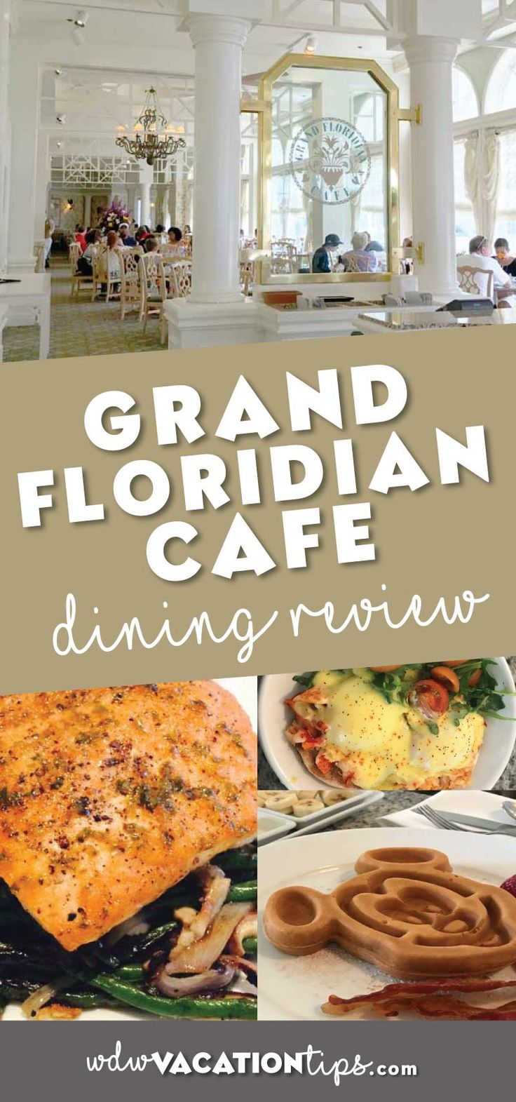 Dining review for the Grand Floridian Cafe at Walt Disney World. Get a look at the dishes and hear what we thought of the food.