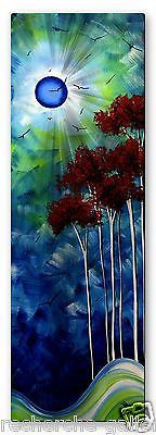 Megan Duncanson 'Tropical Night' Tree Moon Contemporary Metal Wall Sculpture Art in Home & Garden, Home Décor, Wall Sculptures | eBay